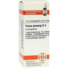 PANAX GINSENG D 4 Globuli 10 g