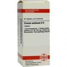ZINCUM ACETICUM D 6 Tabletten 80 St