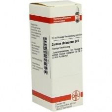 ZINCUM CHLORATUM D 6 Dilution 20 ml