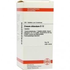 ZINCUM CHLORATUM D 12 Tabletten 200 St