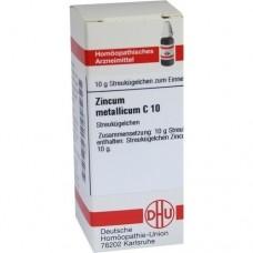 ZINCUM METALLICUM C 10 Globuli 10 g