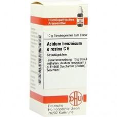 ACIDUM BENZOICUM E Resina C 6 Globuli 10 g