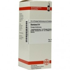 DAMIANA D 4 Dilution 50 ml