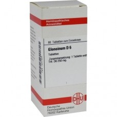 GLONOINUM D 6 Tabletten 80 St