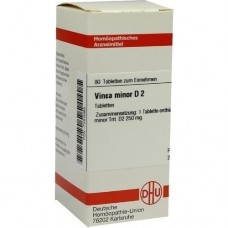 VINCA MINOR D 2 Tabletten 80 St