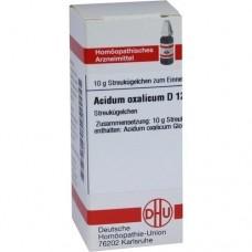 ACIDUM OXALICUM D 12 Globuli 10 g