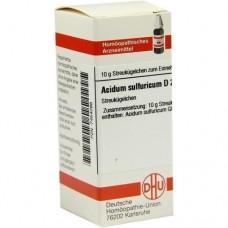 ACIDUM SULFURICUM D 200 Globuli 10 g