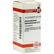 APOMORPHINUM HYDROCHLORICUM D 8 Globuli 10 g