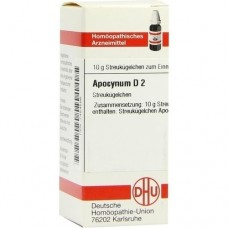 APOCYNUM D 2 Globuli 10 g