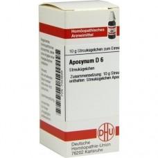 APOCYNUM D 6 Globuli 10 g