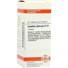 CANDIDA albicans D 12 Tabletten 80 St