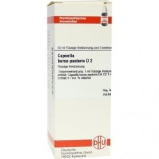 CAPSELLA BURSA pastoris D 2 Dilution 50 ml