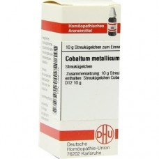 COBALTUM METALLICUM D 12 Globuli 10 g