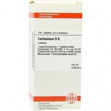 CORTISONUM D 6 Tabletten 200 St