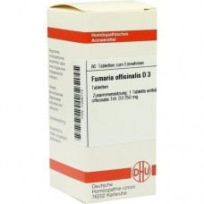 FUMARIA OFFICINALIS D 3 Tabletten 80 St