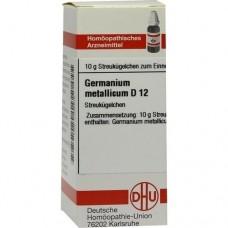 GERMANIUM metallicum D 12 Globuli 10 g