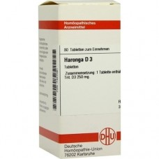 HARONGA D 3 Tabletten 80 St