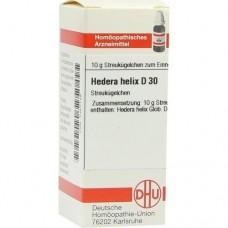 HEDERA HELIX D 30 Globuli 10 g