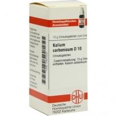 KALIUM CARBONICUM D 10 Globuli 10 g