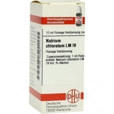 LM NATRIUM chloratum IV Dilution 10 ml