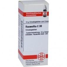 RAUWOLFIA C 30 Globuli 10 g