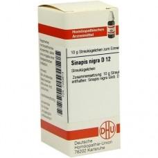 SINAPIS NIGRA D 12 Globuli 10 g