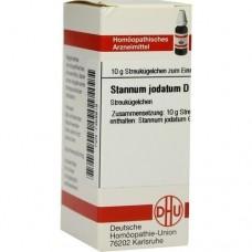 STANNUM JODATUM D 12 Globuli 10 g