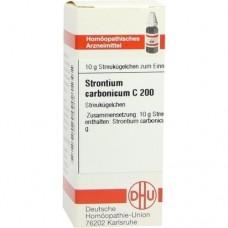 STRONTIUM CARBONICUM C 200 Globuli 10 g