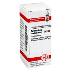 AMMONIUM CARBONICUM D 200 Globuli 10 g