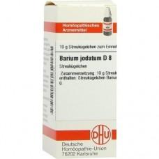 BARIUM JODATUM D 8 Globuli 10 g