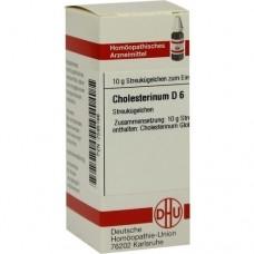 CHOLESTERINUM D 6 Globuli 10 g