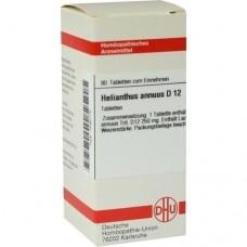 HELIANTHUS ANNUUS D 12 Tabletten 80 St