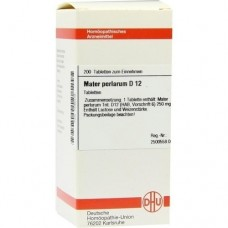 MATER PERLARUM D 12 Tabletten 200 St