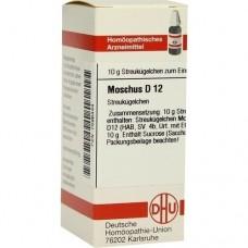 MOSCHUS D 12 Globuli 10 g
