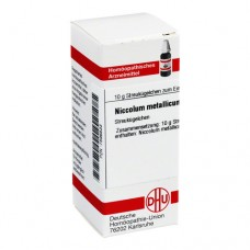 NICCOLUM METALLICUM C 30 Globuli 10 g