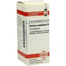 RICINUS COMMUNIS D 6 Globuli 10 g