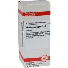 PLANTAGO MAJOR D 12 Tabletten 80 St