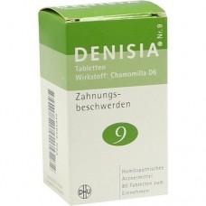 DENISIA 9 Zahnungsbeschwerden Tabletten 80 St