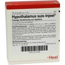 HYPOTHALAMUS suis Injeel Ampullen 10 St