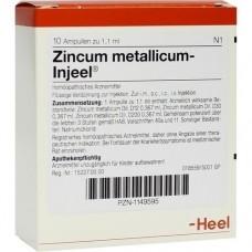 ZINCUM METALLICUM INJEEI Ampullen 10 St