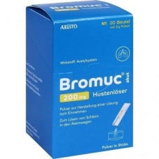 BROMUC akut 200 mg Hustenlöser Plv.z.H.e.L.z.Einn. 20 St