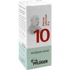BIOCHEMIE Pflüger 10 Natrium sulfuricum D 6 Tabl. 100 St