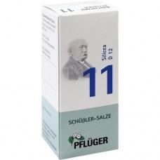 BIOCHEMIE Pflüger 11 Silicea D 12 Tabletten 100 St