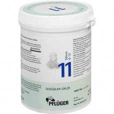 BIOCHEMIE Pflüger 11 Silicea D 12 Tabletten 1000 St