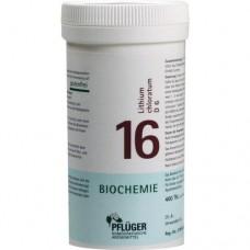 BIOCHEMIE Pflüger 16 Lithium chloratum D 6 Tabl. 400 St
