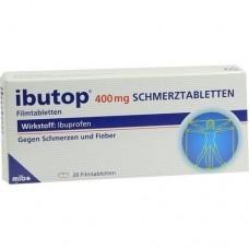 IBUTOP 400 mg Schmerztabletten Filmtabletten 20 St