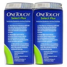 ONE TOUCH Select Plus Blutzucker Teststreifen 100 St
