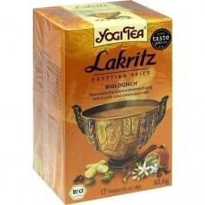 YOGI TEA Lakritz Bio Filterbeutel 17X1.8 g