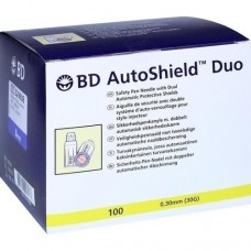 BD AUTOSHIELD Duo Sicherheits Pen Nadel 8 mm 100 St