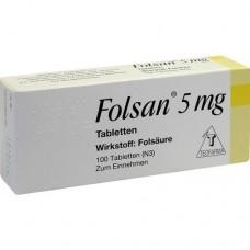 FOLSAN 5 mg Tabletten 100 St